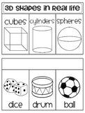 3d Shapes in the Environment Book (Geometry in Real Life)