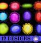 3d Shiny Scalloped Border Designs