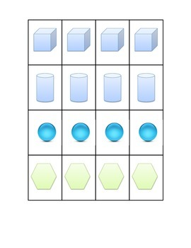 3d and 2d Shapes