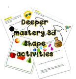 3d shape deeper mastery tasks