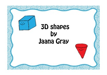 3d shapes Read and Write the room