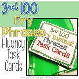 3rd 100 Fry Phrases Task Cards