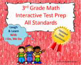 3rd Grade Math Interactive Test Prep: All 25 Standards *** UPDATED ***