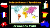 3rd, 4th, 5th Holidays Around the World Six Week Social Studies ELA Unit