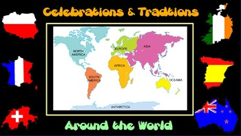 3rd, 4th, 5th Holidays Around the World Six Week Social St