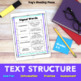 3rd, 4th, 5th, Text Structure Introduction/Practice Pack