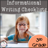 3rd Grade Informational Writing Checklist