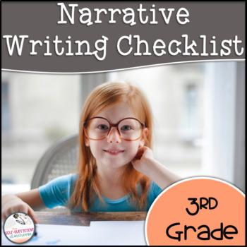 3rd Grade Strong Writer's Narrative Writing Checklist