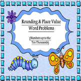 3rd & 4th Grade Rounding and Place Value Word Problems