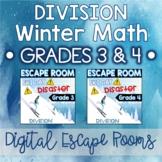 3rd & 4th Grade Winter Digital Escape Room Division Review