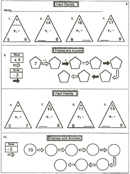 3rd & 4th Subtraction Practice and Test (printables)
