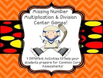 Missing Number Factor Games Balanced Equal Equations, Divi