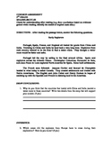3rd-5th Common Assessment ELA Main Idea