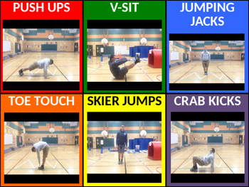 3rd - 5th Fitness Instant Activity #5