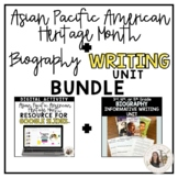 3rd-5th Grade Asian Pacific American Heritage Month + Biog