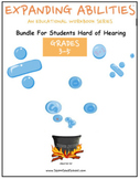 3rd - 5th Grade Bundle for Students Hard of Hearing