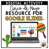 3rd-5th Grade Cinco de Mayo Resource for Google Slides™