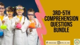 3rd-5th Grade Comprehension Questions-Know Atom Science ~BUNDLE~