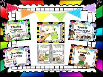 ELA Vocabulary 3-5th Grade (Over 160 Words)