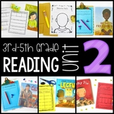 3rd-5th Grade Reading Workshop Unit 2 {Elements of Fiction