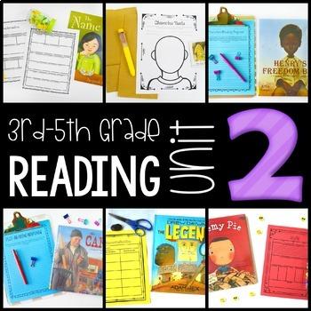 3rd-5th Grade Reading Workshop Unit 2 {Elements of Fiction