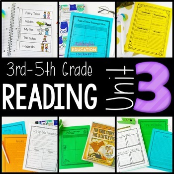 3rd-5th Grade Guided Reading Unit 3 {Traditional Literature}