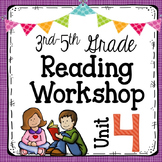 3rd-5th Grade Reading Workshop Unit 4 {Author Studies}