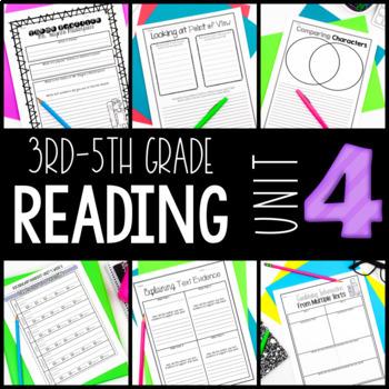 3rd-5th Grade Reading Workshop Unit 4 {Author Studies}