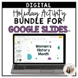 3rd-5th Grade Holiday Digital Activity Bundle - Ready for