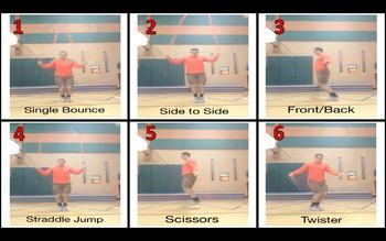3rd - 5th Grade Jump Rope Progression Bundle