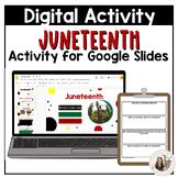 3rd-5th Grade Juneteenth Resource for Google Slides™