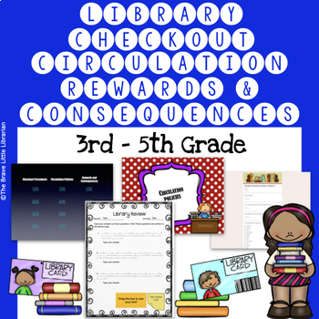 3rd-5th Grade Library Checkout, Circulation, Rewards and C
