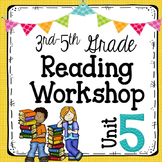 3rd-5th Grade Reading Unit 5 {Poetry, Prose, and Drama} Distance Learning