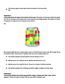 3rd - 5th  Grade Science (NGSSS) Quiz- Scientific Method-Nature of Science