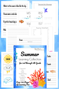 3rd-5th Grade Summer Learning Collection