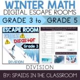 3rd - 5th Grade Winter Digital Escape Room Division Review