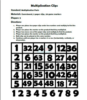 3rd - 5th Math Games BUNDLE!!! (Multiplication and Division)