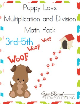 3rd-5th Puppy Multiplication & Division Pack