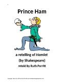 3rd-5th grade play {Prince Ham, a retelling of Hamlet}