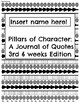3rd 6 Weeks-Pillars of Character: A Journal of Quotes (Digital/Printable)