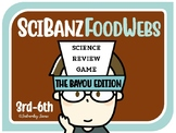Science Games: Food Chain / Food Web Review Bayou Theme {SciBanz}