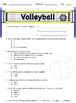 3rd - 8th Grade Volleyball Unit Assessments & Word Wall (Danielson 1f)