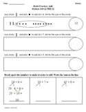 (3rd 9 Weeks) 1st Grade Common Core Math Worksheets [BUNDLED]