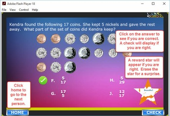 3rd Balloon Pop Module 1 – Place Value and Fractions – 2012 TEKS/Common Core