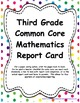 3rd: CC LA, Math, & NGSS Report Cards