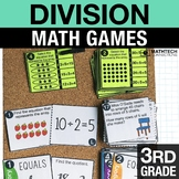 3rd - Division Centers - Math Games