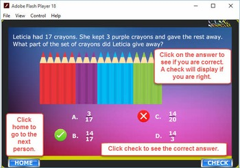 3rd Duck game Module 2 –Fractions, Number and Operations – 2012 TEKS/Common Core