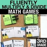 3rd - Fluently Multiply and Divide Math Centers - Math Games
