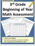 3rd Grade Beginning of the Year Assessment