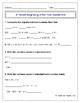 3rd Grade Beginning of the Year Math Assessment